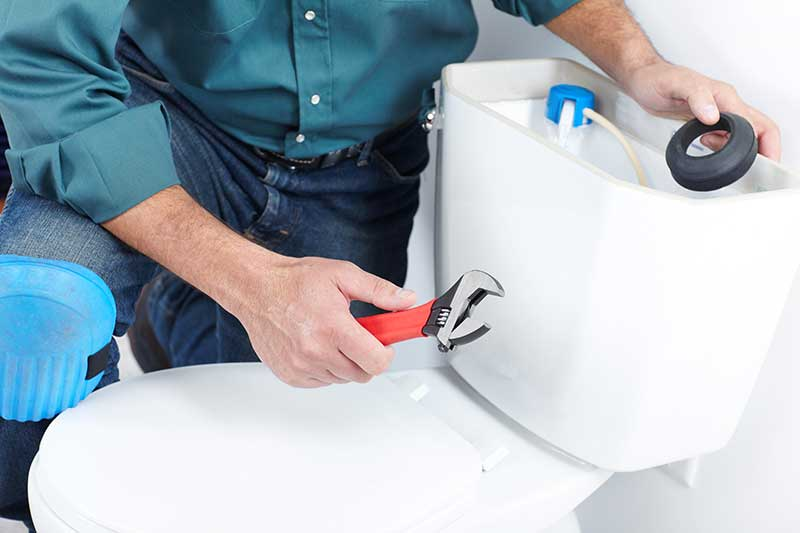 Hot Water in the Toilet? Here's What to Do