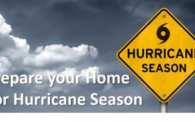 Prepare your Home for Hurricane Season