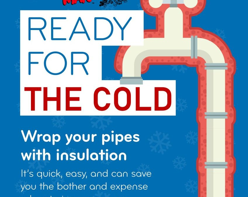 How to wrap your pipes
